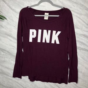 Pink L/S Top Small